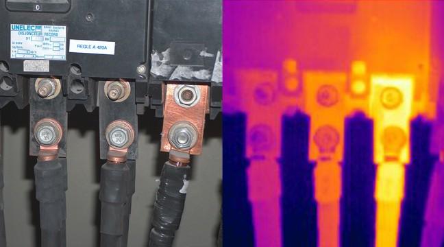 Exemple de défaut détecté en BASSE TENSION : Défaut de serrage