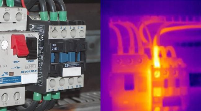 Exemple de défaut détecté en BASSE TENSION : Défaut de sertissage sur un embout de câblage