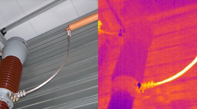 Exemple de défaut détecté en HAUTE TENSION : Défaut sur liaison câblée souple