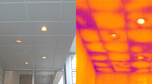 Localisation de défauts d'isolation thermique en milieu tertiaire
