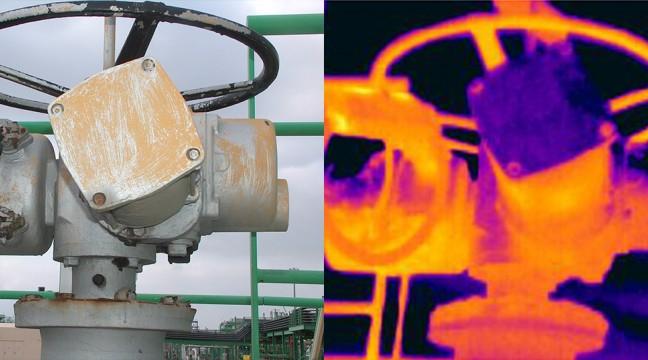 Validation des températures de surfaces d'équipements industriels destinés à être implantés en zone ATEX