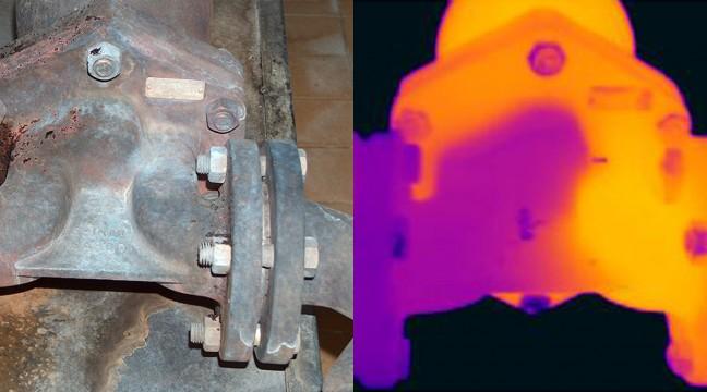 Contrôle du bon fonctionnement d'un purgeur sur réseau de vapeur